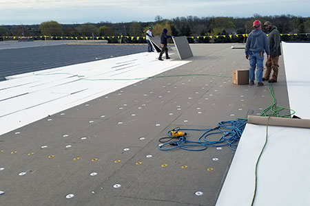 Racine Roofing Projects