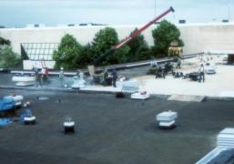 Regency Mall Roof Installation Project