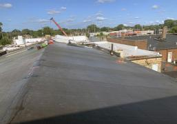 Adhered EPDM (Rubber Roof System)